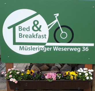 Bed & Breakfast am Weserweg 36